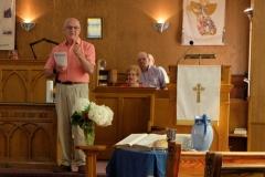 01 Rev. Dick begins his final sermon at St. Paul's