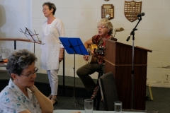 21 Elizabeth Heon and Elaine Mann entertained at the luncheon
